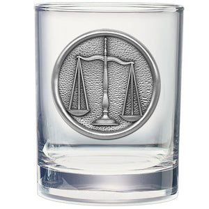 LAW DOUBLE OLD FASHIONED GLASS