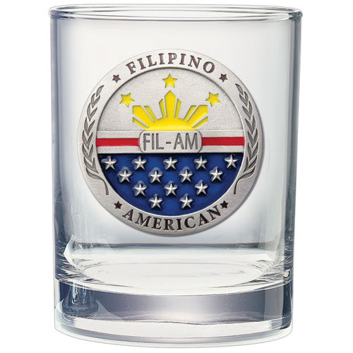 FIL-AM DOUBLE OLD FASHIONED GLASS