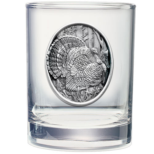 TURKEYS DOUBLE OLD FASHIONED GLASS
