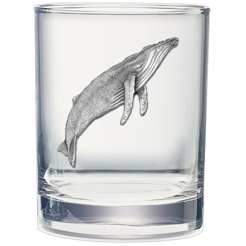 WHALE DOUBLE OLD FASHIONED GLASS