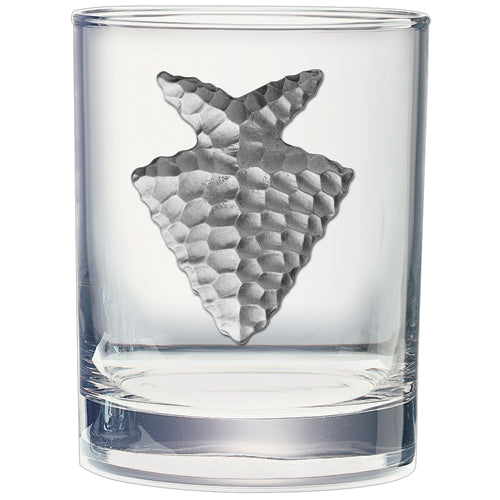 ARROWHEAD DOUBLE OLD FASHIONED GLASS