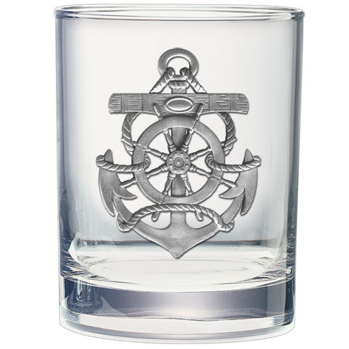 ANCHOR DOUBLE OLD FASHIONED GLASS