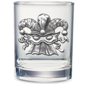 MASK DOUBLE OLD FASHIONED GLASS