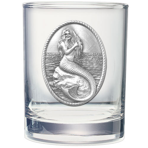 MERMAID DOUBLE OLD FASHIONED GLASS