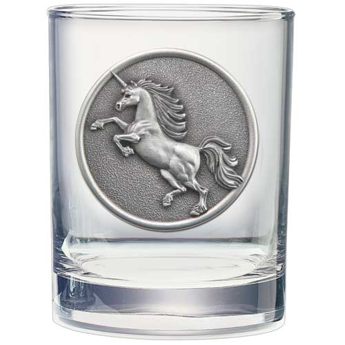 UNICORN DOUBLE OLD FASHIONED GLASS