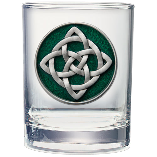 CELTIC KNOT DOUBLE OLD FASHIONED GLASS
