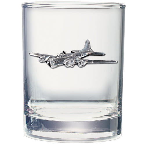 B-17 DOUBLE OLD FASHIONED GLASS