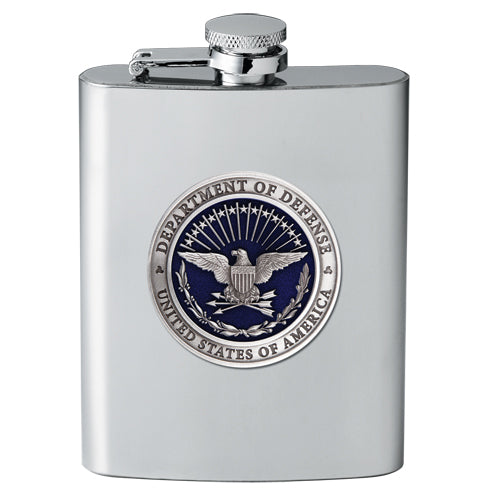 USA Department of Defense Flask