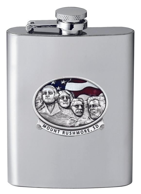 MT RUSHMORE FLASK