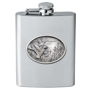 MALLARD DUCKS FLASK