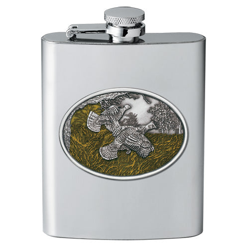 RUFFED GROUSE FLASK