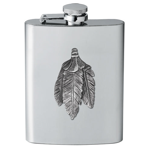 FEATHERS FLASK