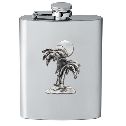 PALM TREE FLASK