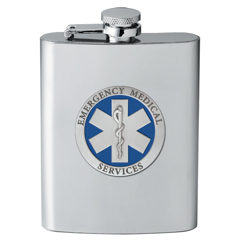 EMERGENCY MEDICAL FLASK