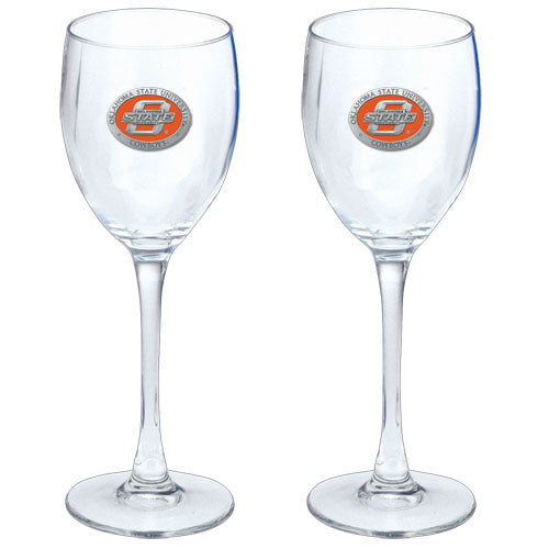 OKLAHOMA STATE UNIVERSITY GOBLETS (SET OF 2)
