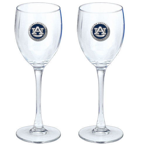 AUBURN UNIVERSITY GOBLETS (SET OF 2)