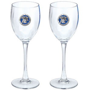 UNIVERSITY OF KENTUCKY GOBLETS (SET OF 2)