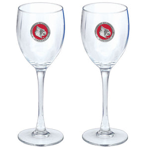 UNIVERSITY OF LOUISVILLE GOBLETS (SET OF 2)