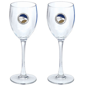 GEORGIA SOUTHERN UNIVERSITY GOBLETS (SET OF 2)