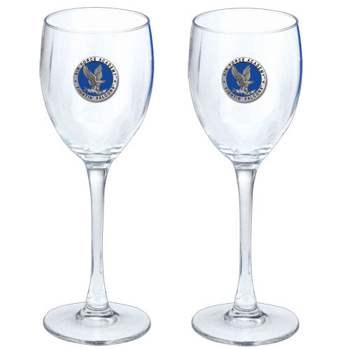 AIR FORCE ACADEMY GOBLETS (SET OF 2)