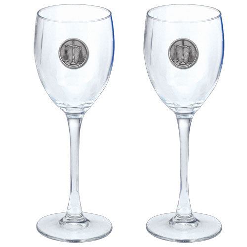 LAW GOBLETS (SET OF 2)
