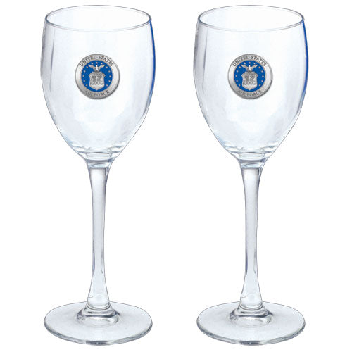 AIR FORCE GOBLETS (SET OF 2)