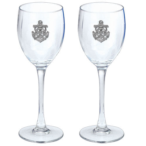 ANCHOR GOBLETS (SET OF 2)