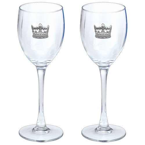 CROWN GOBLETS (SET OF 2)