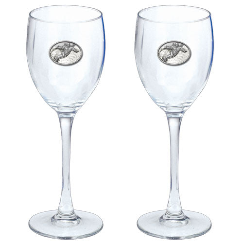 SNOWBOARDER GOBLETS (SET OF 2)