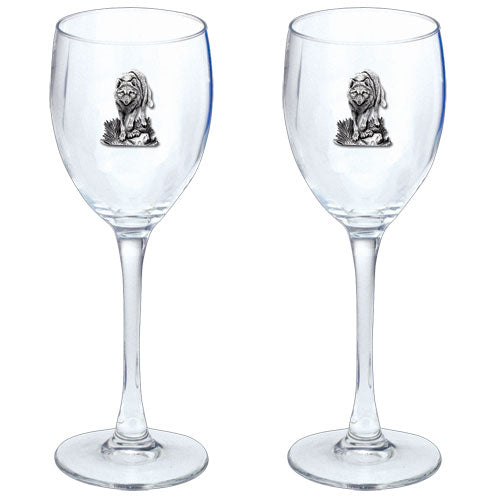 WOLVES GOBLETS (SET OF 2)