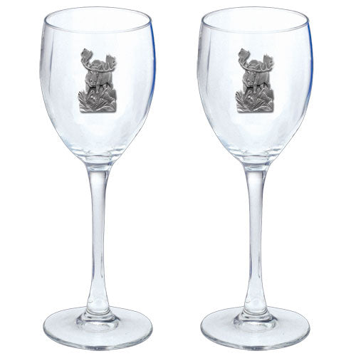 MOOSE GOBLETS (SET OF 2)
