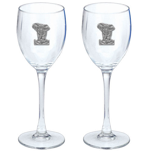 ELEPHANT GOBLETS (SET OF 2)