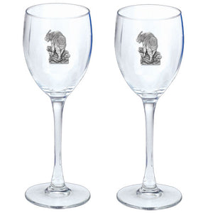 MOUNTAIN GOAT GOBLETS (SET OF 2)