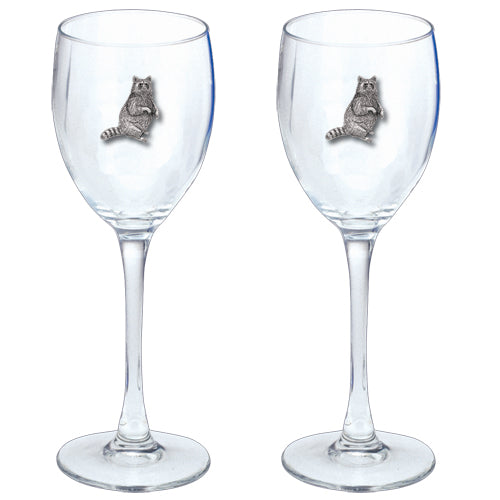 RACCOON GOBLETS (SET OF 2)