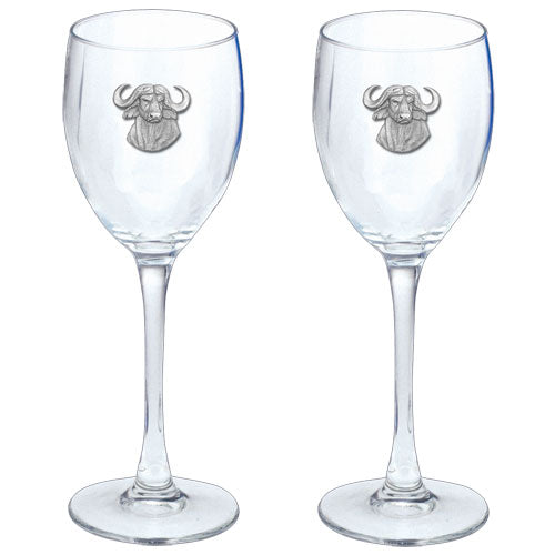 CAPE BUFFALO GOBLETS (SET OF 2)