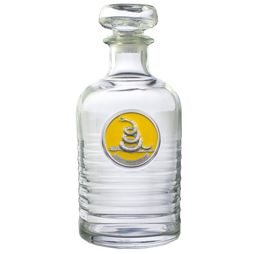DON'T TREAD ON ME GENEVA DECANTER