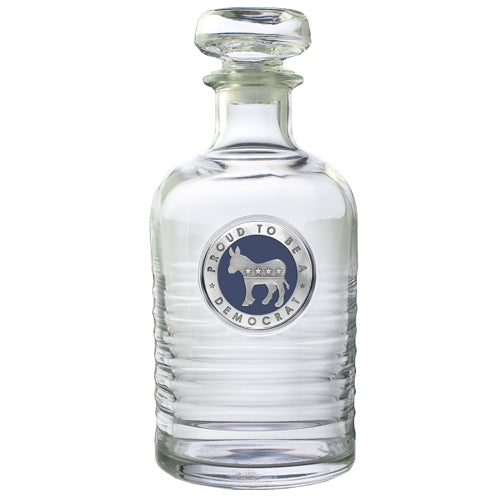 DEMOCRAT GENEVA DECANTER
