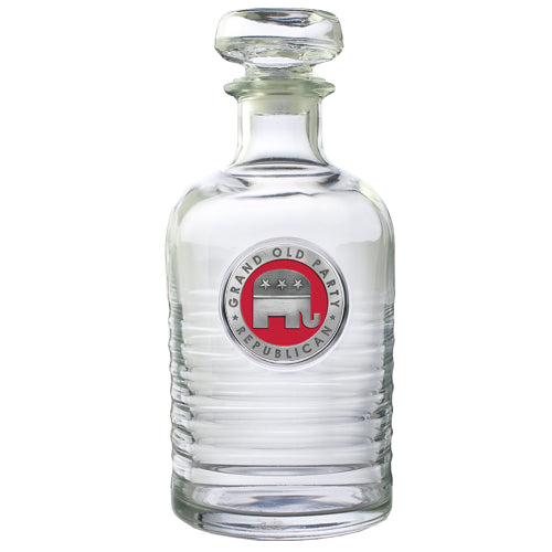 REPUBLICAN GENEVA DECANTER