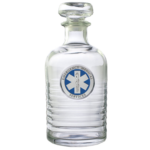 EMERGENCY MEDICAL GENEVA DECANTER