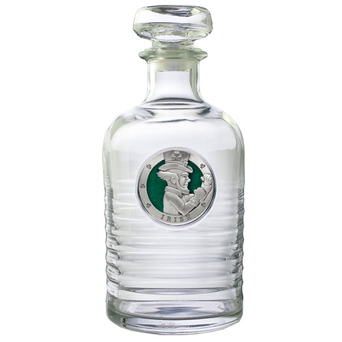 IRISH FIGHTER GENEVA DECANTER
