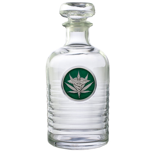 MEDICAL MARIJUANA GENEVA DECANTER