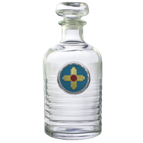 NEW MEXICO GENEVA DECANTER