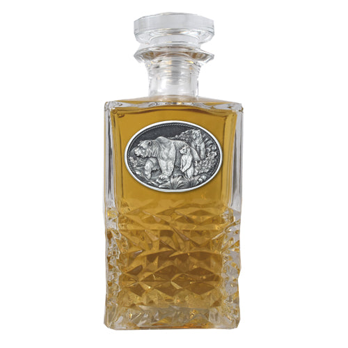 GRIZZLY BEAR HERITAGE DECANTER