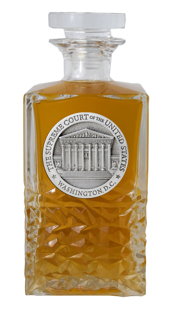 SUPREME COURT HERITAGE DECANTER