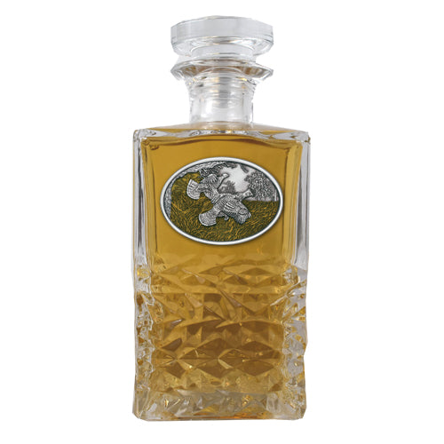 RUFFED GROUSE HERITAGE DECANTER