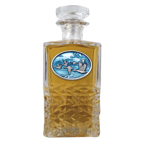 CANADIAN GOOSE HERITAGE DECANTER