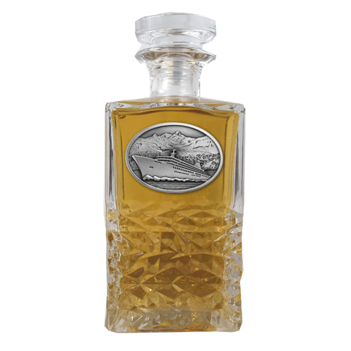CRUISE SHIP HERITAGE DECANTER
