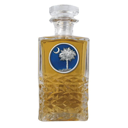 SOUTH CAROLINA PALMETTO HERITAGE DECANTER