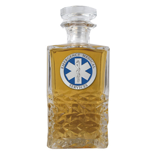 EMERGENCY MEDICAL HERITAGE DECANTER