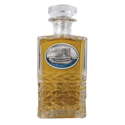 STEAMBOAT HERITAGE DECANTER